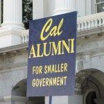 Cal Tea Party sign