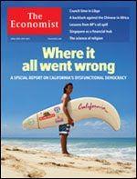 Economist California Cover