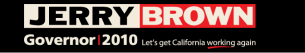 Brown - Jerry - 2010 Campaign Banner