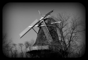 Windmill - broken - old