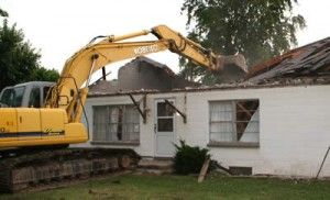 House demolished