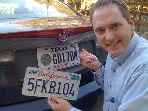 DeVore License Plate