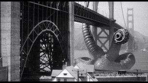 It came from beneath the sea - golden gate bridge