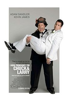 Chuck and Larry poster