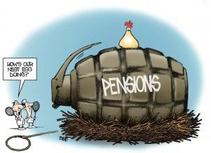 Pension cartoon