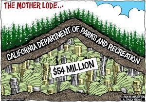 Cagle cartoon state parks scandal, Aug. 1, 2012