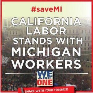 California labor Michigan workers