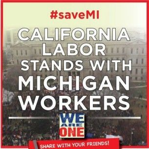 California labor Michigan workers