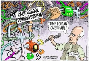 Calif. education funding, Cagle, Jan. 2, 2013