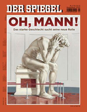 Der Spiegel cover, Jan. 2013