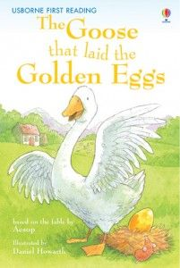 Goose that laid the golden egg book cover