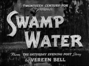 Swamp Water movie poster 1