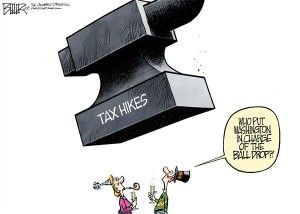 new year's tax increase, cagle, Jan. 2, 2013