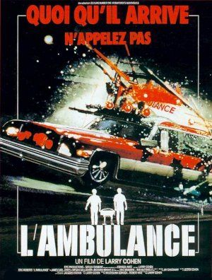 Ambulance movie poster