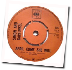 April Come She Will, Simon and Garfunkel