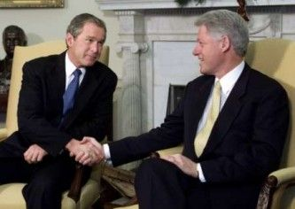 bushclinton.white.house.handout