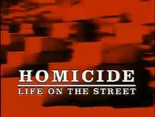 Homicide TV show title wikipedia