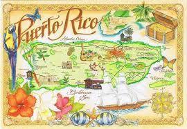 Puerto Rico post card