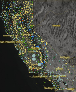 California Water Rights Atlas screen capture