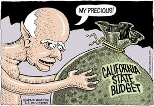 California state budget, Wolverton, cagle, Brown, May 20, 2013