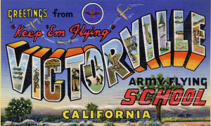 Victorville post card