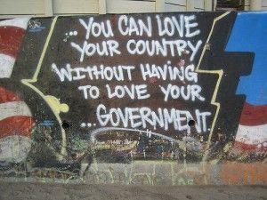 anti government graffiti