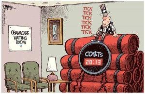 Obamacare Cagle Mckee, June 14, 2013