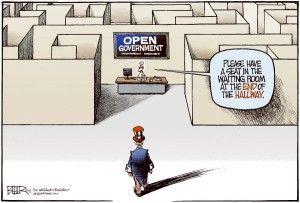 Open government, cagle, June 21, 2013