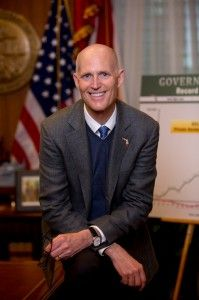 Rick Scott, Florida governor