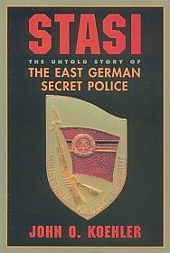 Stasi book cover