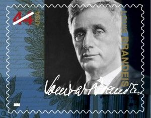 Brandeis stamp