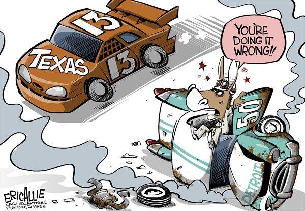 texas vs.detroit, cagle, july 29, 2013