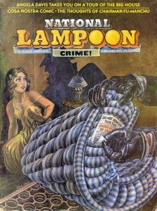 National Lampoon 'Crime' cover, Feb. 1972