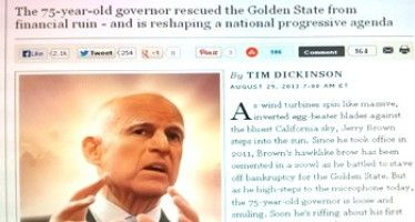 Top 7 CA facts that Jerry Brown-loving national media always ignore