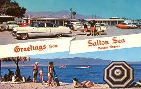 Salton Sea post card