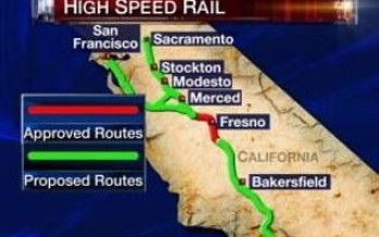 Bullet train: Denial is a river in Sacramento