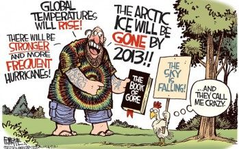 Govt. global warming hoax 'hilarious incoherence'