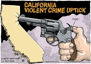 California violent crime, Wolverton, Cagle, Sept. 2, 2013