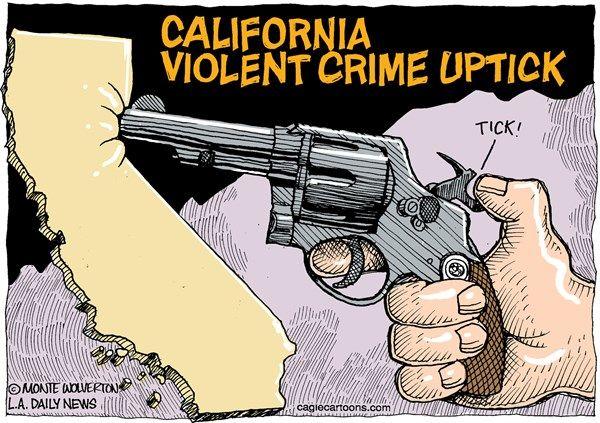 California violent crime, Wolverton, Cagle, Sept. 2, 2013