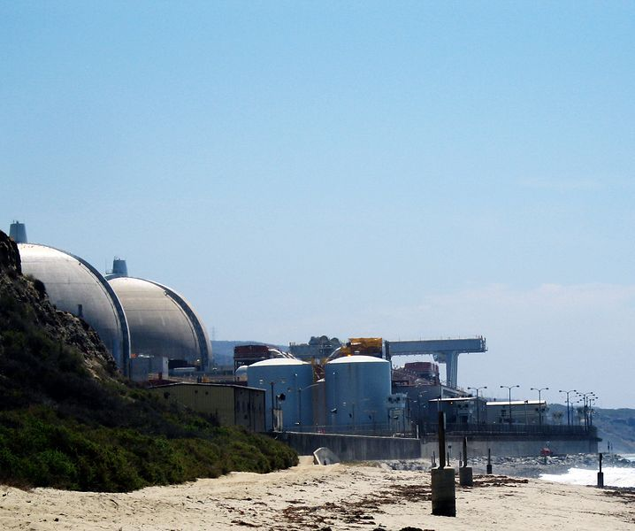 San Onofre electricity station, wikimedia