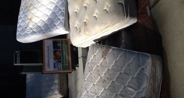 Sea of grimy mattresses evidence of need for recycling bill