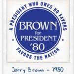 Brown president 1980