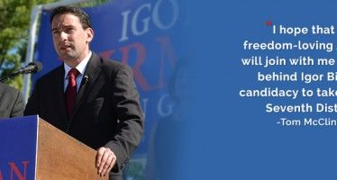Congressional hopeful defined by freedom