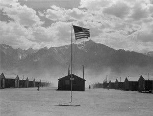 Manzanar flag, wikimedia