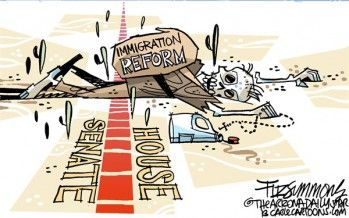 Immigration reform in 2014? Not so fast