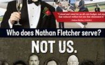 Good news, bad news for chameleon San Diego politician Nathan Fletcher