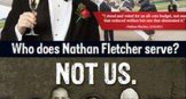 Good news, bad news for chameleon San Diego politician Nathan Fletcher