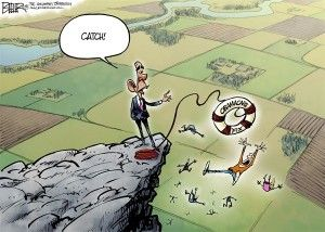 Obamacare fix, beeler, cagle, Nov. 26, 2013