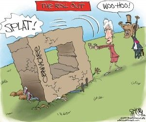 Obamacare rollout, Gary McCoy, cagle, Nov. 5, 2013