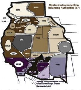 Western electricity balancing